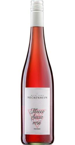 Perlwein Mecco Secco rosé Pfalz