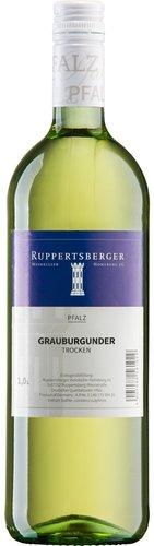 Grauburgunder QW trocken Pfalz 2020, 1 Liter