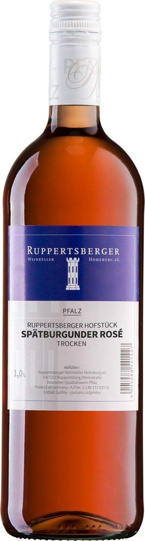 Spätburgunder Rosé QW trocken Ruppertsberger Hofstück 2020,  1 Liter